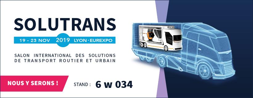 Salon Solutrans Lyon 2019